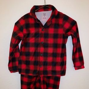 Kids 5T Brand New Carter's Checkered PJs